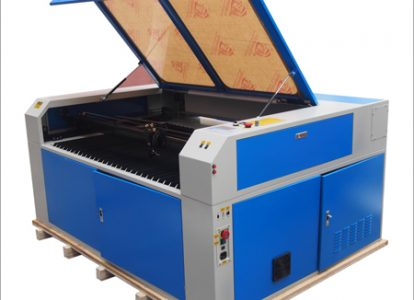 Laser Cutting Machine Blue