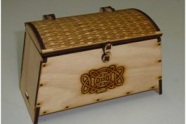Laser Cut Treasure Chest