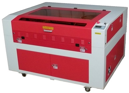 Laser Cutting Machine Red